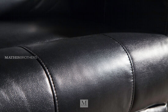Traditional Home Theater Power Recliner in Black