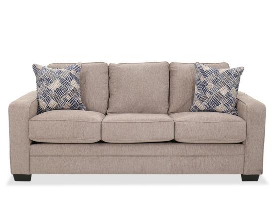 "83"" Casual Sofa in Gray"
