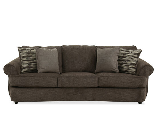"Casual 100"" Three-Seater Sofa in Gray"