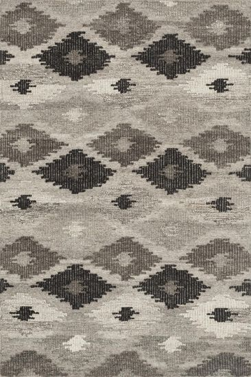 """Transitional 9'-3""""x13' Rug in Grey/Charcoal"""