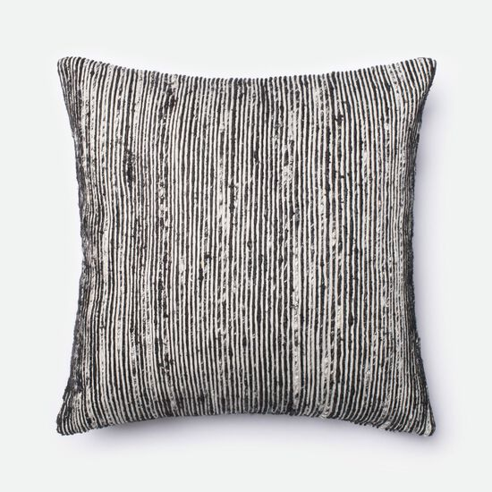 "22""x22"" Pillow Cover Only in Black/Multi"