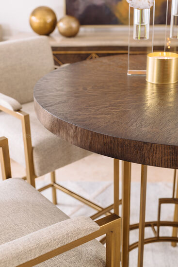 """42"""" Traditional Round Pub Table in Lloyd Brown"""