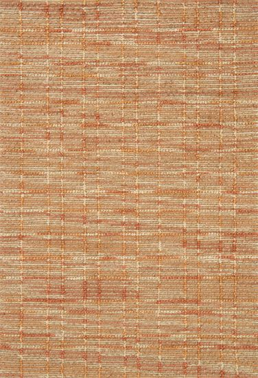 "Contemporary 2'-3""x3'-9"" Rug in Tangerine"