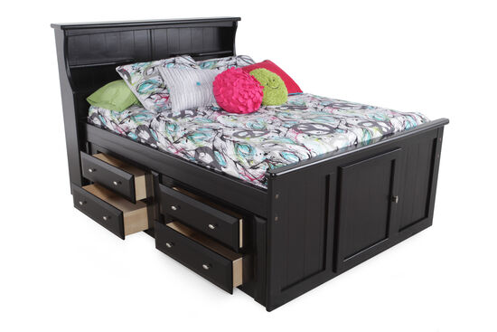 Trendwood Laguna Full Captain's Bed