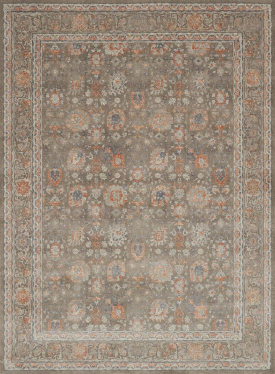 "Transitional 12'-0""x15'-0"" Rug in Taupe/Taupe"