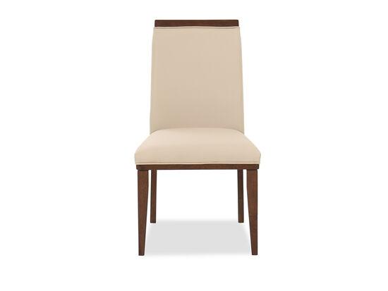 """37.5"""" Modern Side Chair in Beige"""