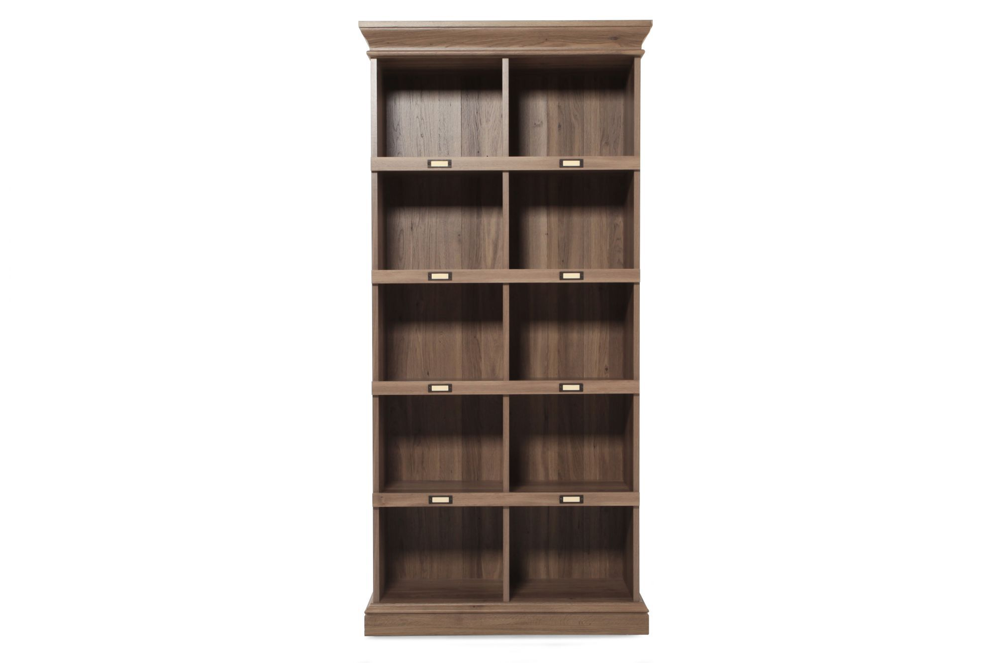 Sauder Tall Cubby Style Bookcase | Mathis Brothers Furniture