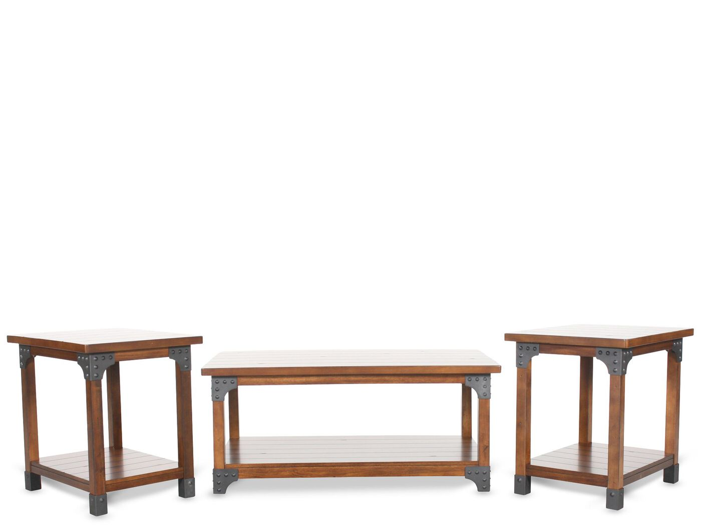 ashley coffee table set | mathis brothers