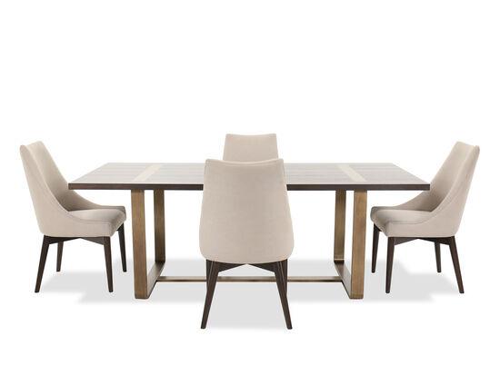 Five-Piece Modern Dining Set in Barton