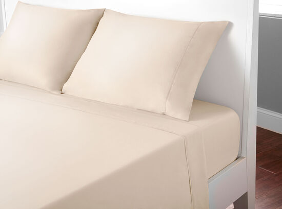 Four-Piece Basic Twin Sheet Set in Sand