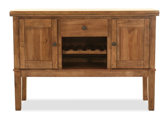 Two-Door 56'' Dining Room Server in Brown