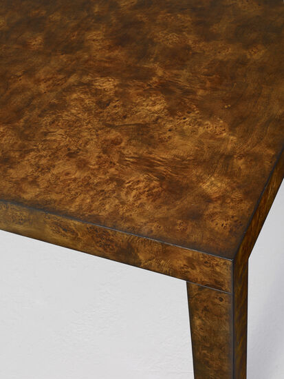 """Long Board Rectangle Dining Table W/ 2-20"""" Leaves in Medium Wood"""