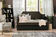 Universal Black & White Youth Twin Daybed