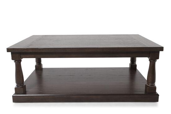 Rectangular Contemporary Coffee Tablein Dark Espresso