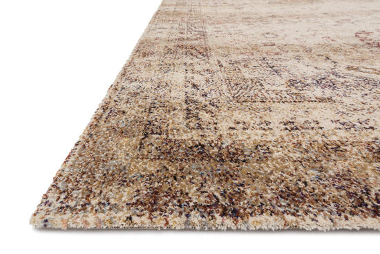 """Transitional 2'-7""""x8'-0"""" Rug in Ivory/Multi"""