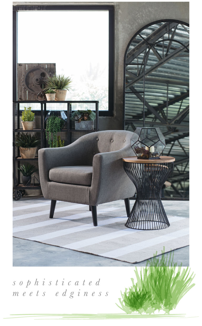 Industrial Accents To Your Living Room