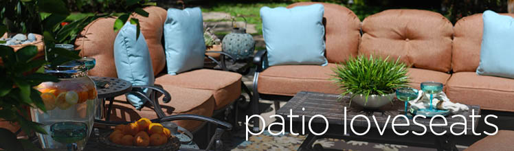 Mathis Brothers Patio Furniture patio loveseats & outdoor loveseats | mathis brothers