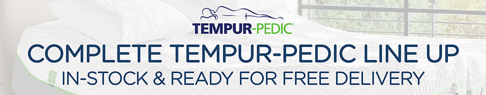 Tempur-Pedic Lineup in-stock