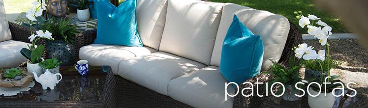 Mathis Brothers Patio Furniture patio sofas, outdoor sofas & seating | mathis brothers