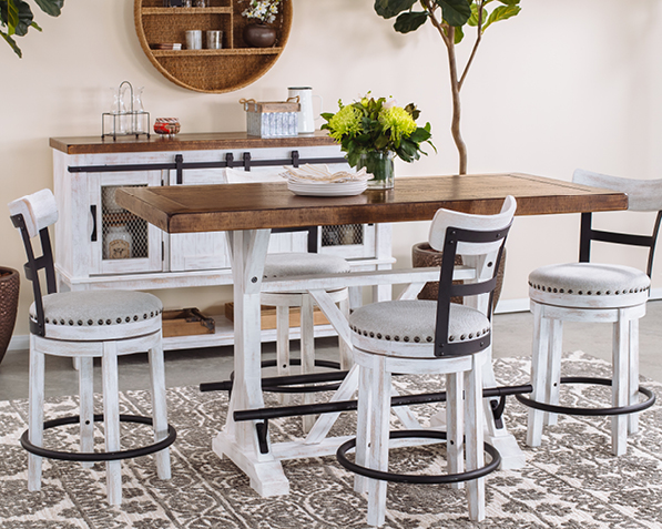 Farmhouse Mathis Brothers Furniture, Farmhouse Dining Tables Okc