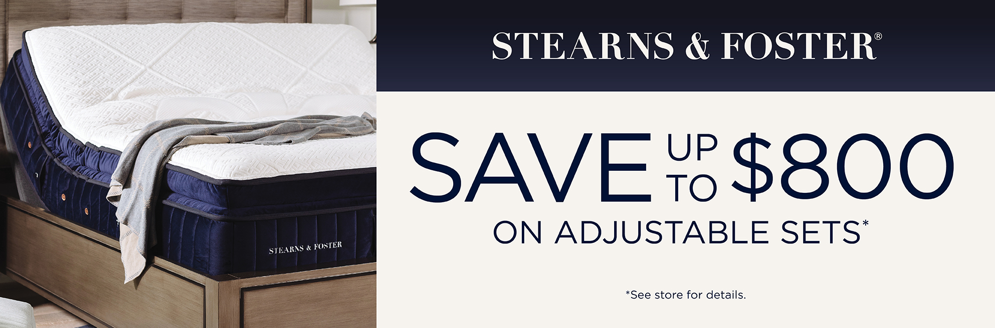 Stearns & Foster Event