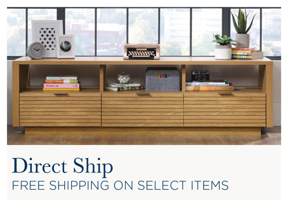Direct Ship. Why Buy At Mathis Brothers?