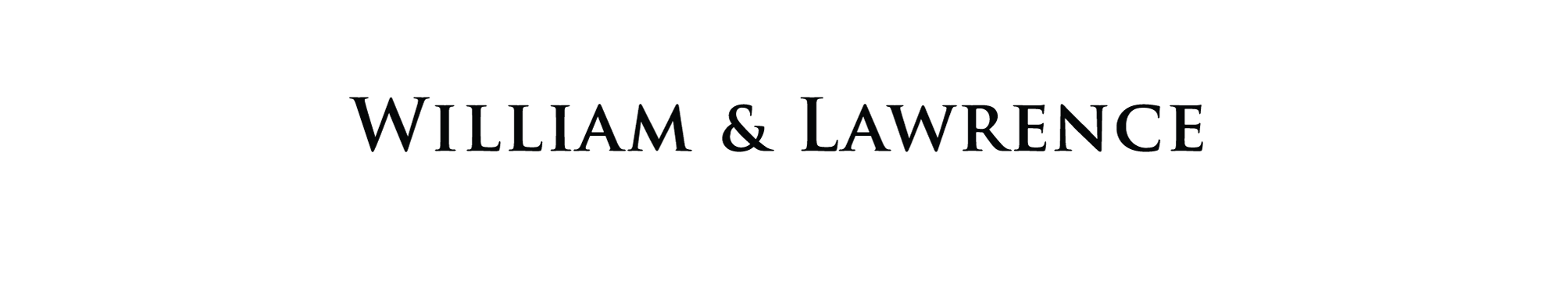 William & Lawrence Logo