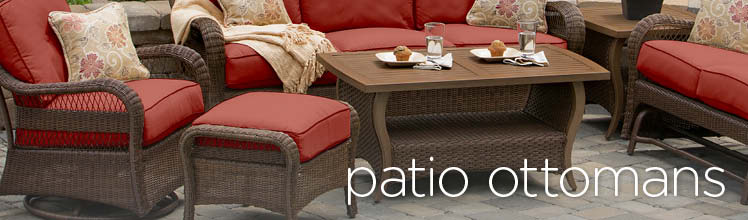 Mathis Brothers Patio Furniture patio ottomans - outdoor ottomans | mathis brothers furniture