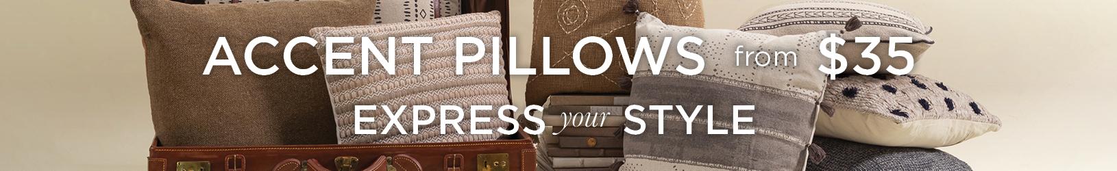 New Accent Pillows