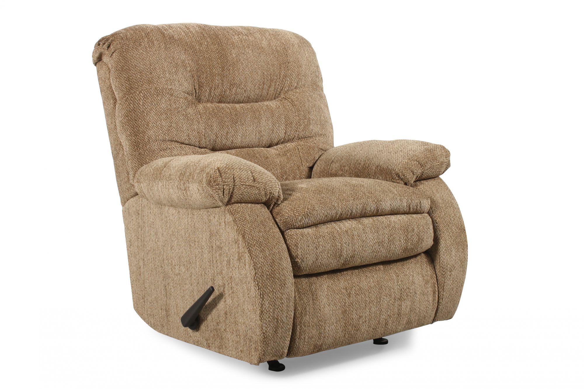 Lane zero gravity laredo tan rocker recliner mathis - Zero gravity recliner chair for living room ...