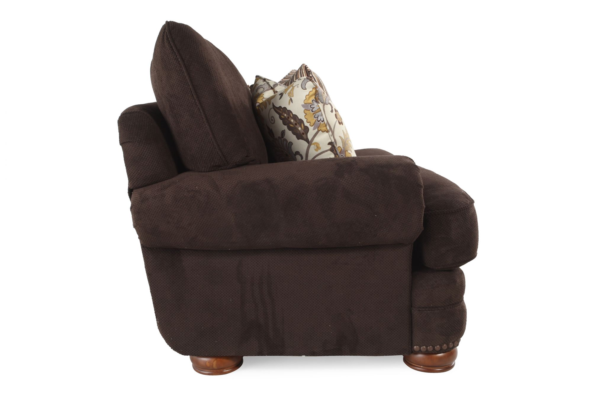 Lane Stanton Chocolate Loveseat Mathis Brothers Furniture