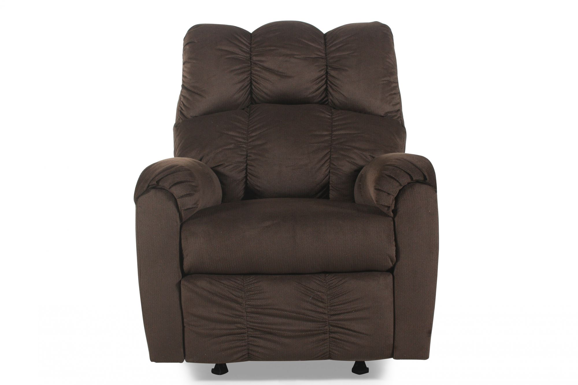 Ashley Raulo Chocolate Rocker Recliner Mathis Brothers Furniture
