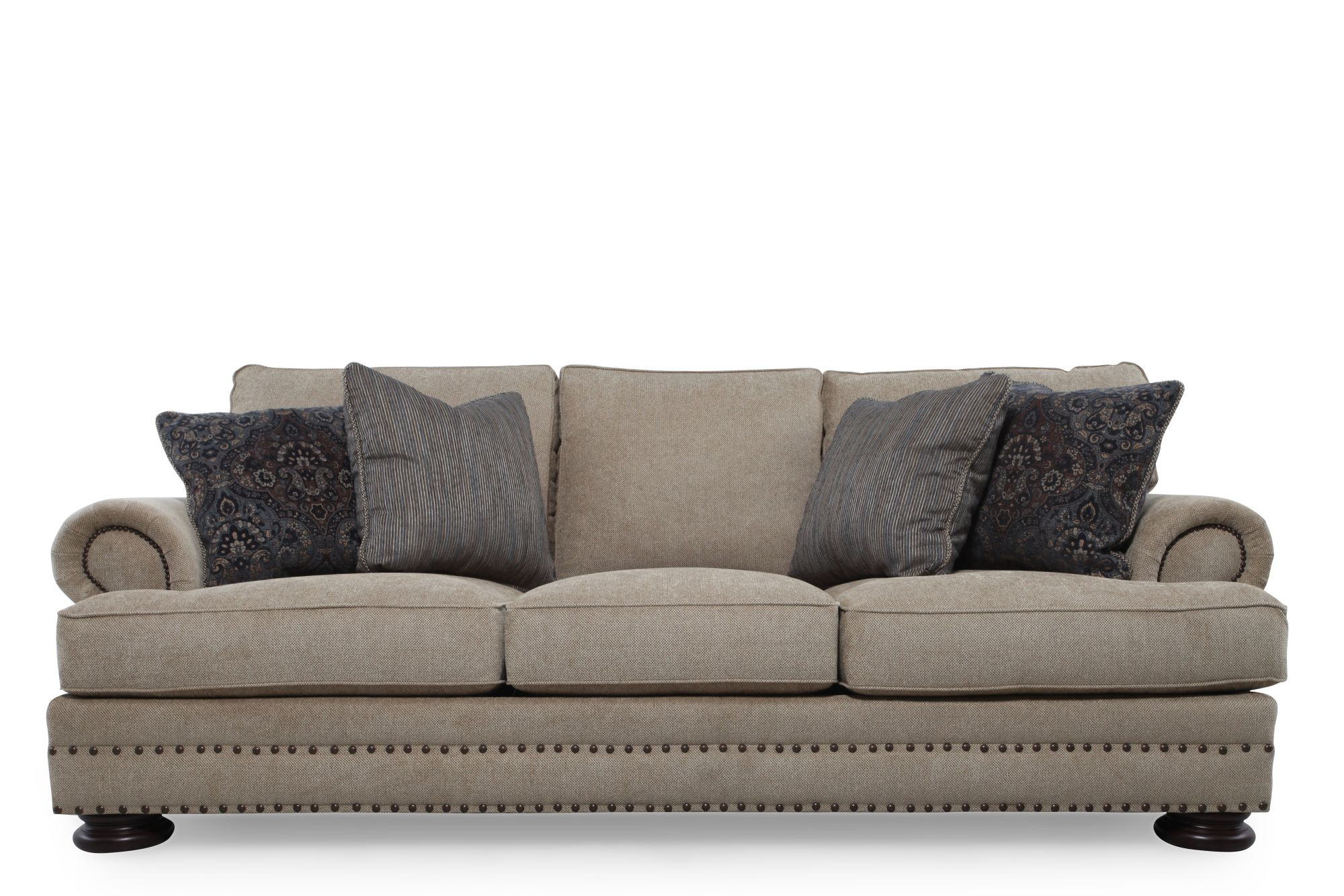 Bernhardt foster sofa mathis brothers furniture for Bernhardt furniture