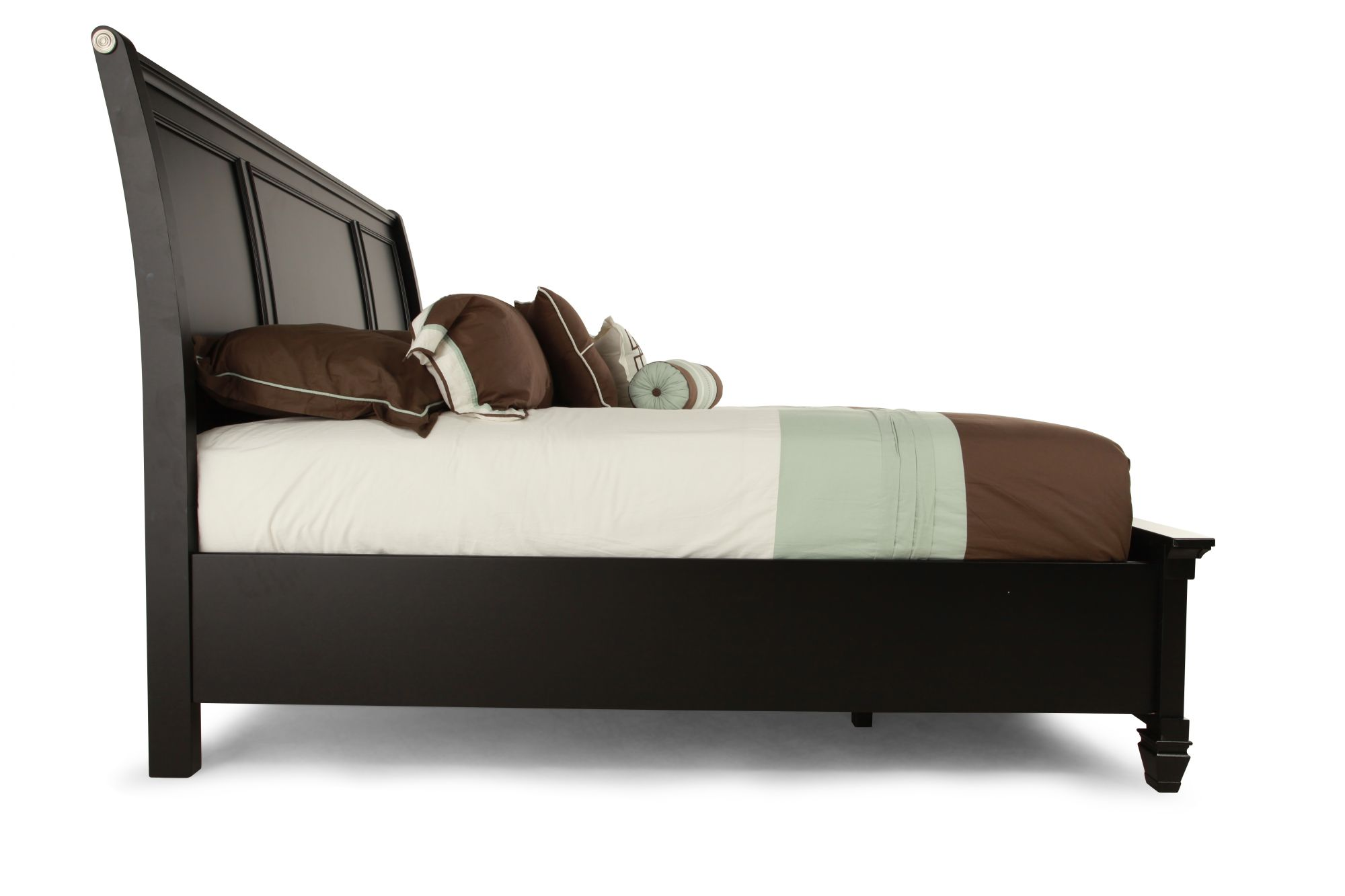 Ashley millennium greensburg queen storage bed mathis for Bedroom furniture queen storage bed
