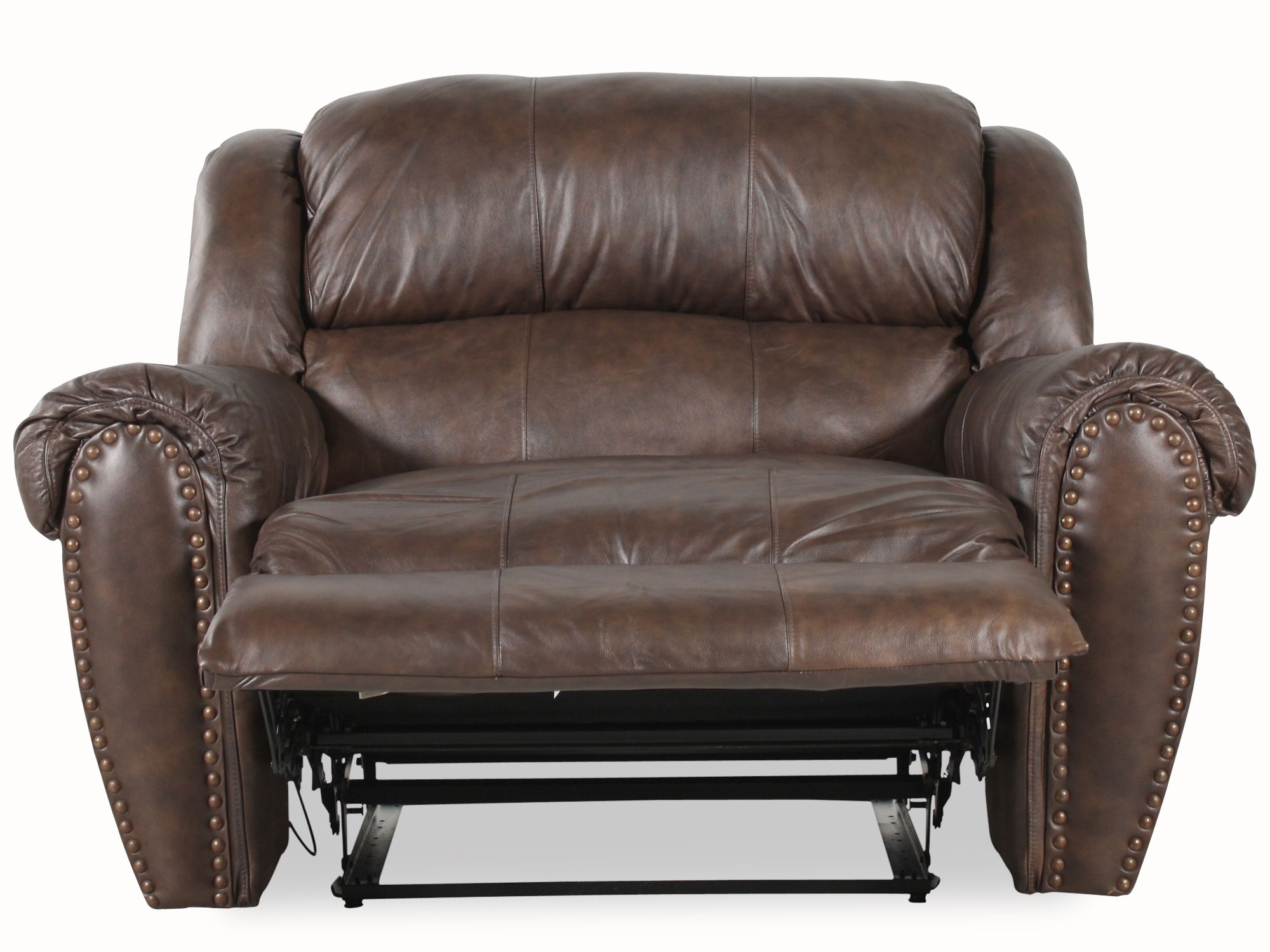 Lane Summerlin Snuggler Leather Recliner Mathis Brothers Furniture