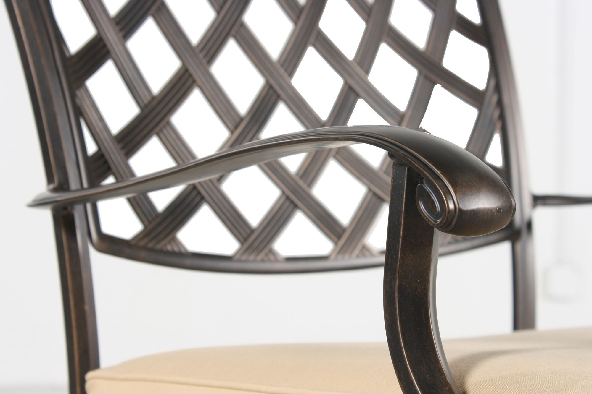 agio heritage select patio dining chair mathis brothers