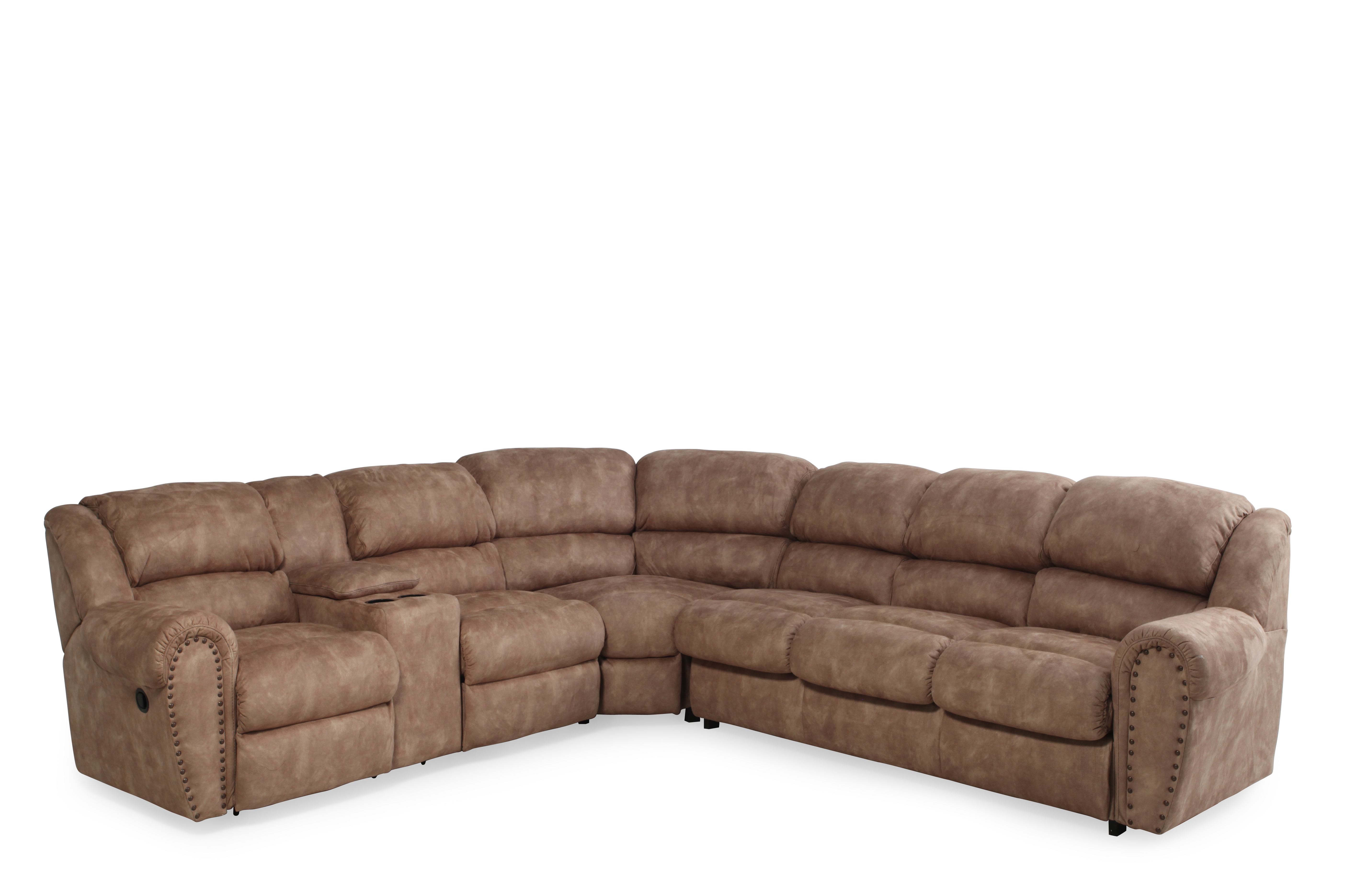 Lane Summerlin Reclining Sectional Mathis Brothers Furniture