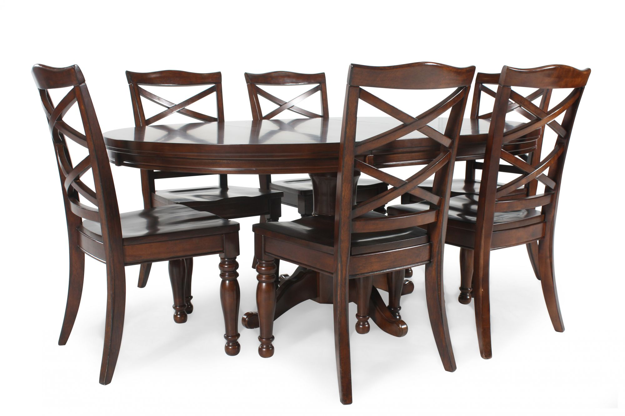 Ashley Porter Five Piece Round Dining Set Mathis  : ASH D697047ROUND 1 from www.mathisbrothers.com size 2000 x 1333 jpeg 208kB