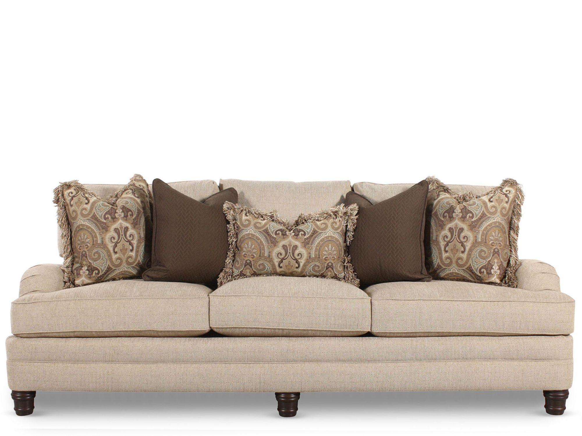 Bernhardt tarleton sofa mathis brothers furniture for Bernhardt furniture